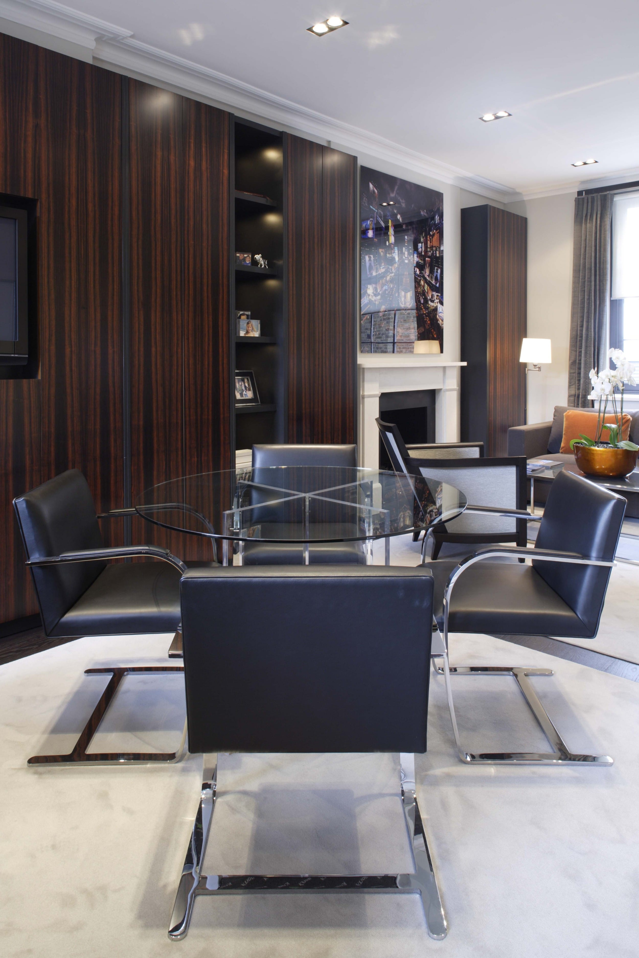dining room interior design surrey