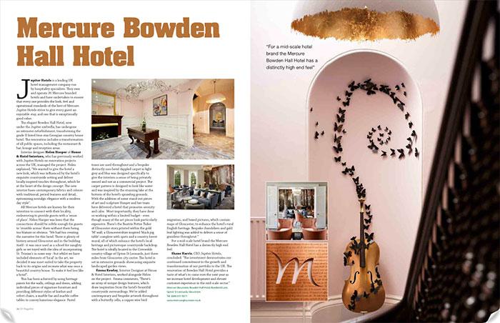 GS magazine interior design
