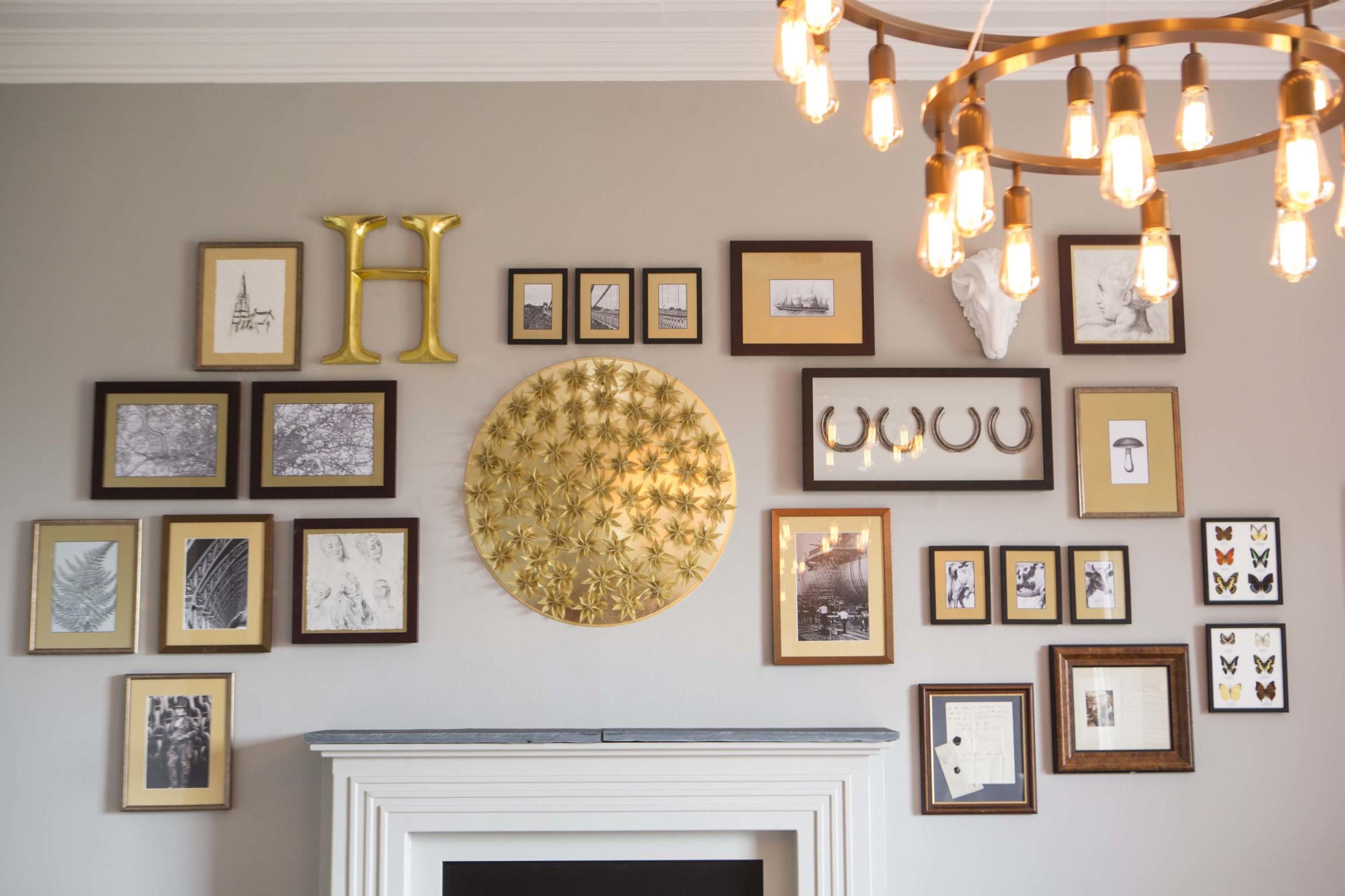 gallery wall interior design