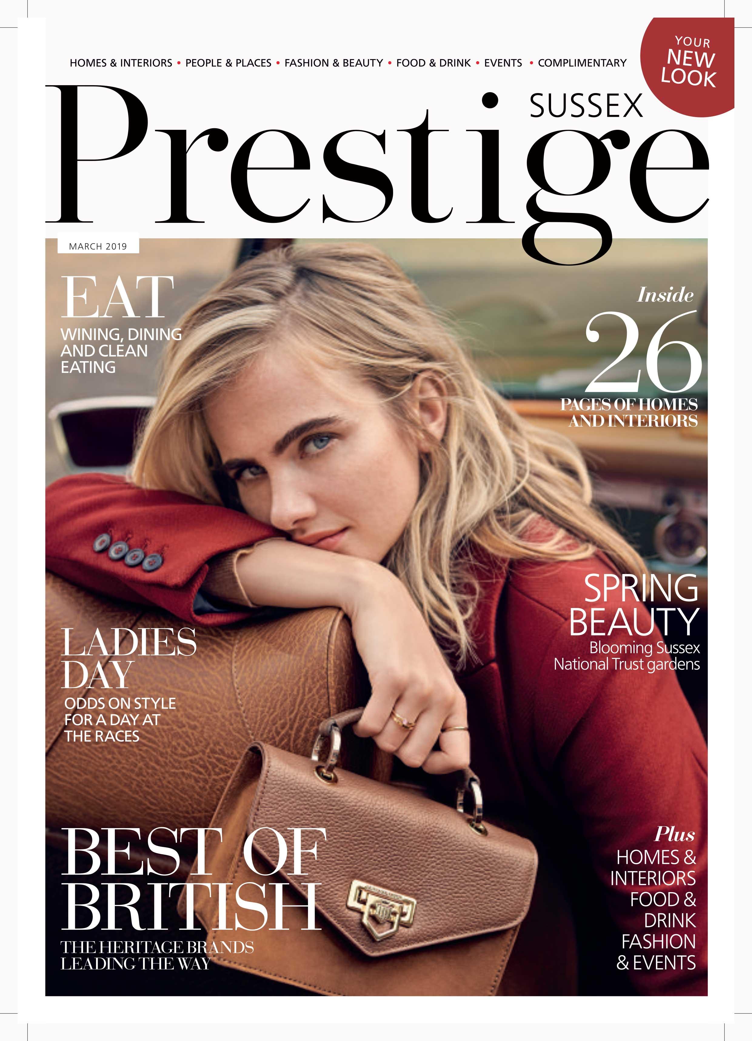 brighton interior designer prestige magazine