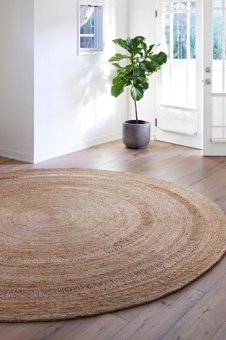 coir round rug brighton