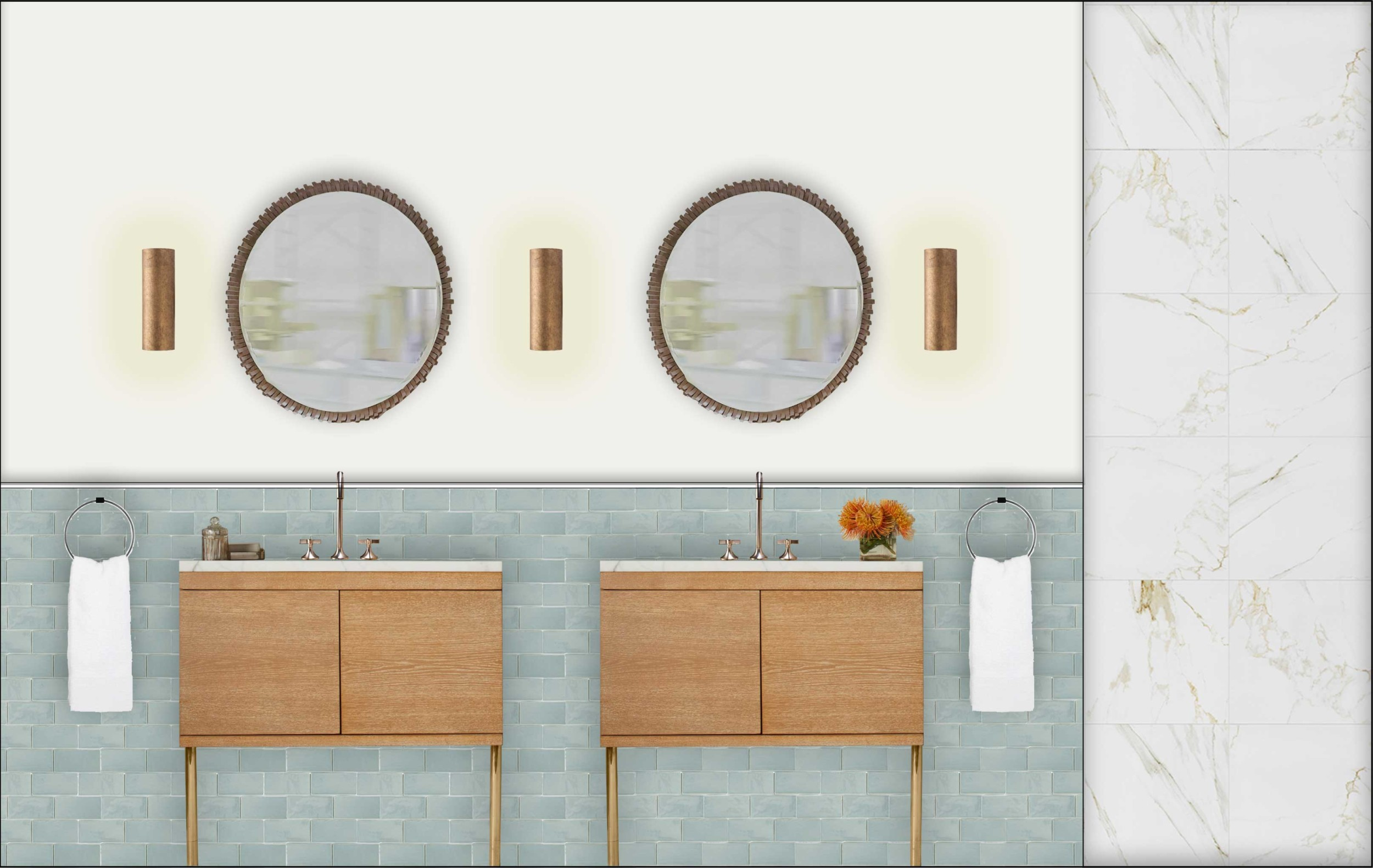 beach bathroom interior design
